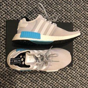 Adidas NMD R1 Bright Cyan Sneakers